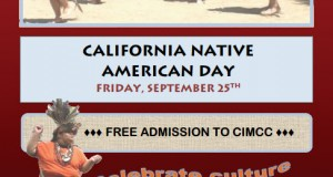 California Native American Day flyer
