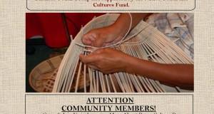 Basket Weaving flyer