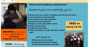 Native Youth employment training flyer
