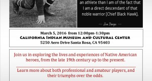 The Legacy of Jim Thorpe & other Native American Heroes event flyer