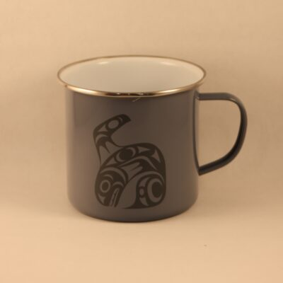 17oz Orca Enam Mug Johnny