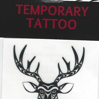 Temp Tattoo Deer Diamond