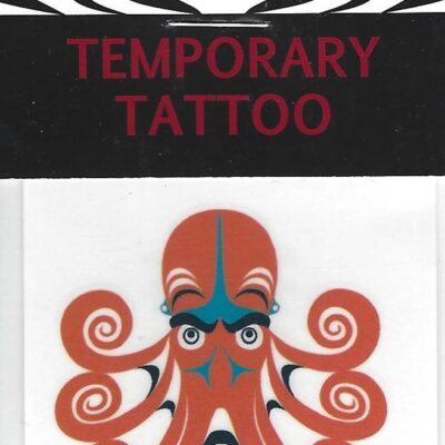 Temp Tattoo Octopus Weir