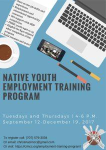 Native Youth Employment Training Program