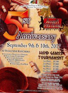 Tuolumne Band of Me-Wuk Indians-51st Acorn Festival Anniversary @ Tuolumne | California | United States