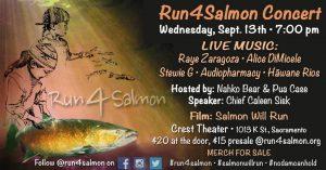 Run4Salmon Sacramento Concert @ Sacramento | California | United States
