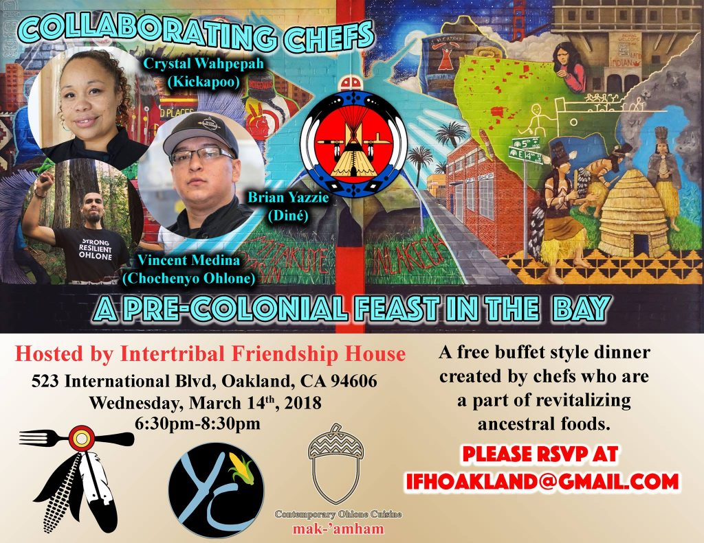 A Pre-Colonial Feast @ Intertribal Friendship House | Oakland | California | United States