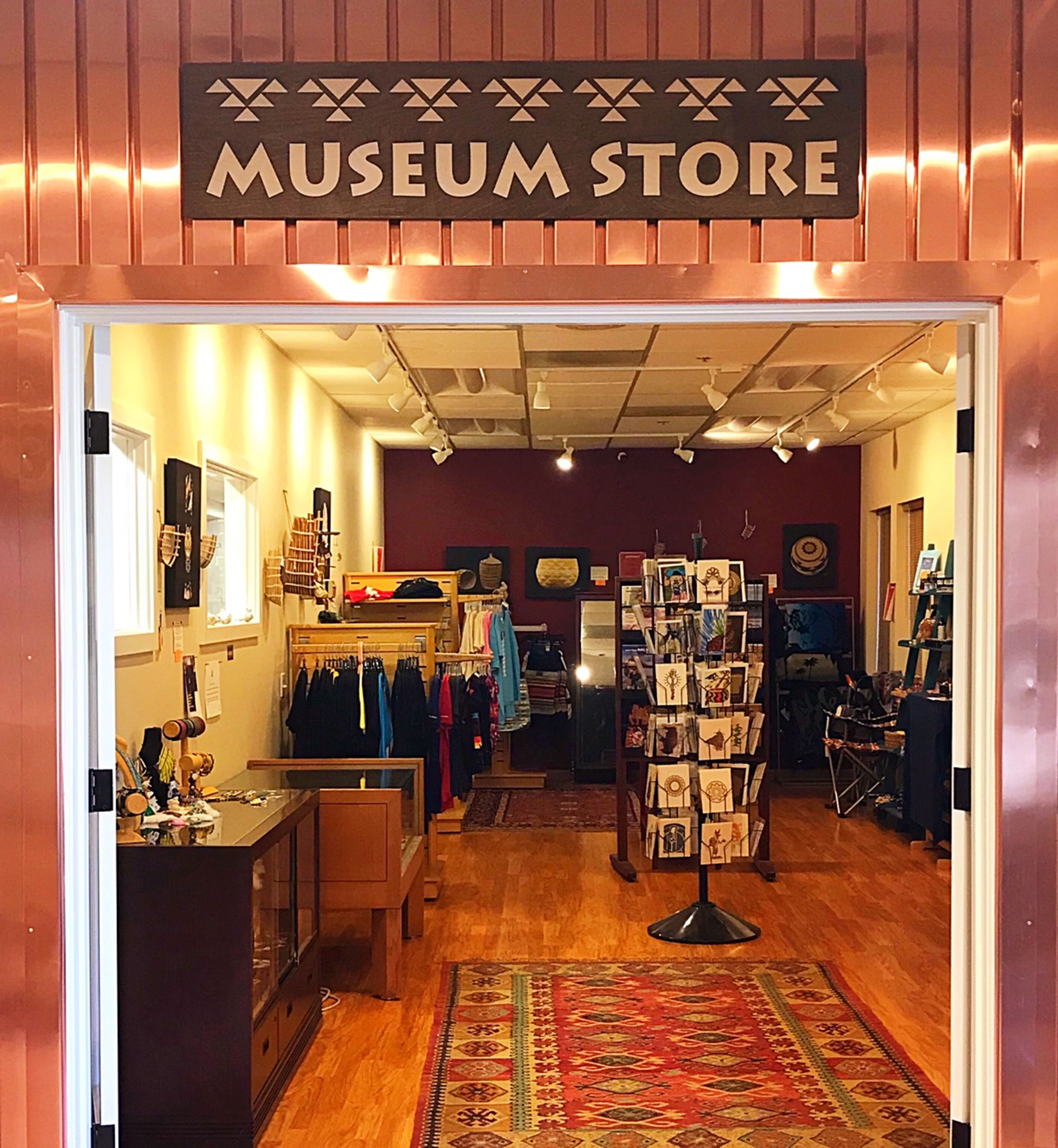 Enter our Museum Store