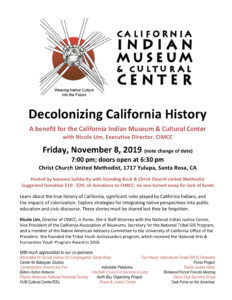 Decolonizing California History – A Benefit for CIMCC @ The Woodlands | Texas | United States